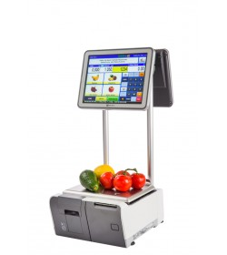 Ishida - Uni-9 touch screen printer scale