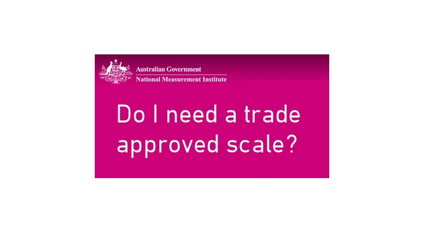Do I need a trade approved scale?